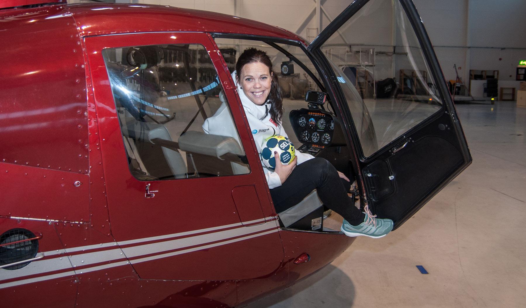 Håndball, helikopter og en skikkelig drømmedag