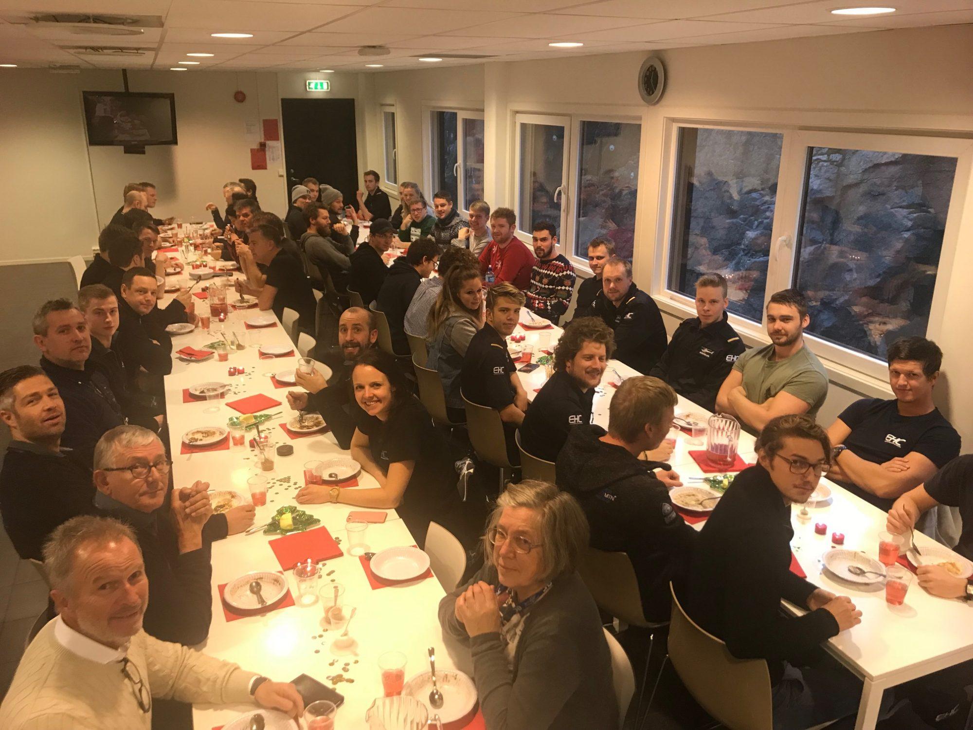 Nå er det jul igjen – julelunch på EHC